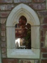 Gothic folly 72 cm Abbey window